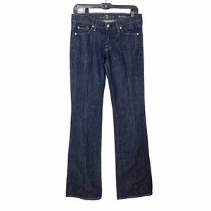 7 For All Mankind Bootleg Jeans Blue 28x33